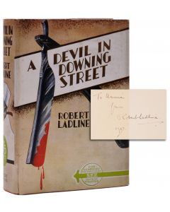 Robert Ladline, A Devil in Downing Street, signed first edition, 1937 - 1