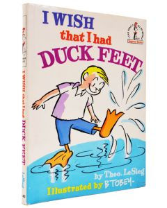 Dr Seuss, I Wish that I had Duck Feet, first edition, 1965 - 1