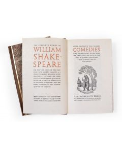 SHAKESPEARE, William; MEYNELL, Francis.