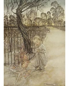 Peter Pan by J.M. Barrie, illustrated by Arthur Rackham