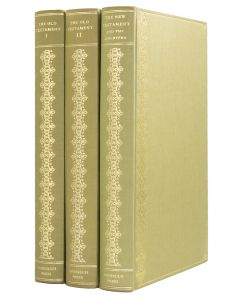 [NONESUCH PRESS; BIBLE].