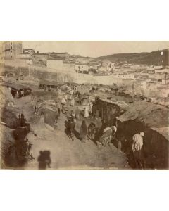 [Photographer unknown]. Shanty Town Outside Constantinople