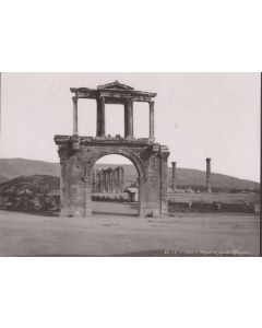 [Photographer unknown]. [Ark of Hadrian and Temple of Jupiter].