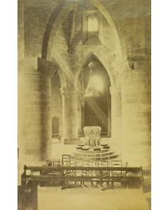 Photographer unknown. [Cathedral interior].