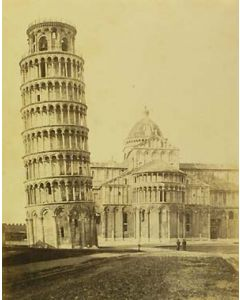 [Photographer unknown]. [Leaning tower of Pisa].