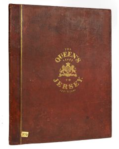 John Le Capelain, The Queen's Visit to Jersey, 1847, first edition - 1