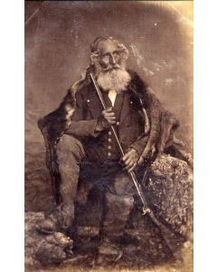 [Photographer unknown]. [The old Chamois hunter of the Griesbach].