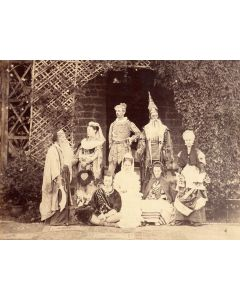 [Photographer Unknown]. [Theatrical group].