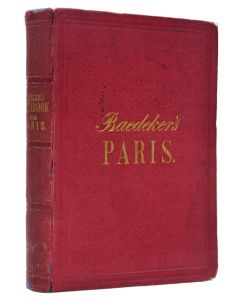 Paris and Northern France. Second edition. 1867 - 1