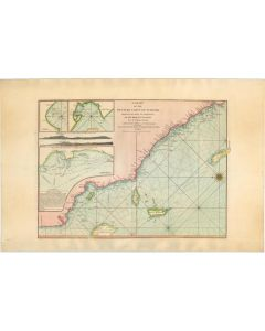 LAURIE & WHITTLE. A Chart of the Western Coast of Sumatra