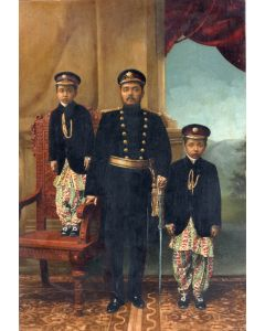 [Photographer unknown]. Nepalese Royal Family.