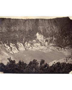 [Photographer unknown]. Volcano Crater