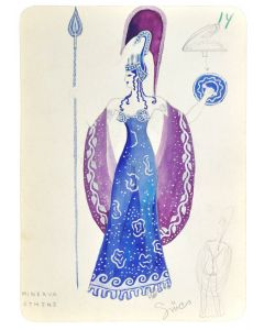 Gucs, Collection of opera watercolours costume designs, Hungary, 1928 - 1