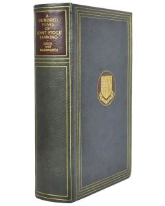 W F Crick & J E Wadsworth, Hundred Years of Joint Stock Banking, 1936 - 1
