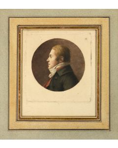 Chretien & Queneday, Physionotrace portraits, 1787-1830 - 1