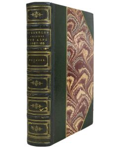 Edward Whymper, Scrambles amongst the Alps, London 1871, first edition - 1