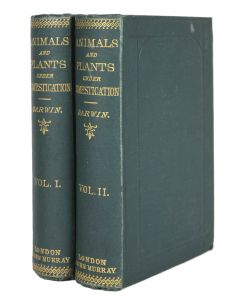 Charles Darwin, The Variation of Animal and Plants, second edition, 2 vols - 1