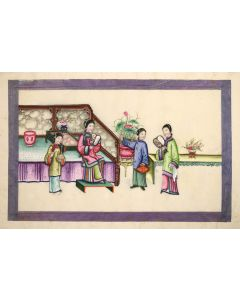 [China Export Watercolours on Pith Paper].