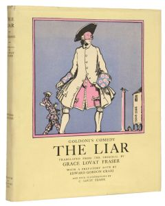 Claud Lovat Fraser, The Liar by Carlo Goldoni, edition de luxe, 1922 - 1