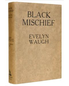 Evelyn Waugh, Black Mischief, first, limited edition signed by the author - 1