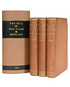 George Eliot, Mill on the Floss, first edition first state, 3 volumes, 1860 - 1