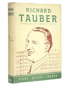 Diana Tauber, Richard Tauber, first edition with signed card, 1949 - 1