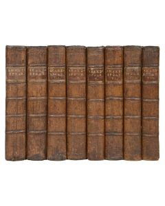 The Works of William Shakespeare, 8 volumes, 1762 - 1