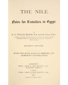 BUDGE, Sir E[rnest] .A[lfred]. Wallis.