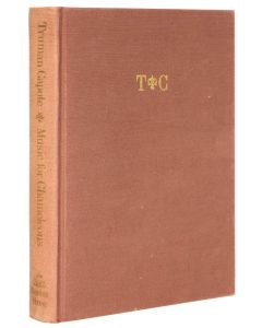 Truman Capote, Music for Chameleons, first edition, one of 50 copies - 1