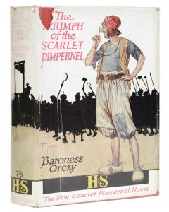 Baroness Orczy, Triumph of the Scarlet Pimpernel, first edition - 1
