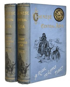 henry lansdell, chinese central asia, a ride to little tibet, 1893 - 1