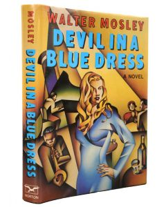 Walter Mosley, Devil in a Blue Dress, signed first edition - 1