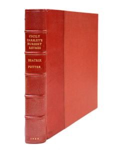 Beatrix Potter, Cecily Parsley's Nursery Rhymes, first edition, dust jacket - 1