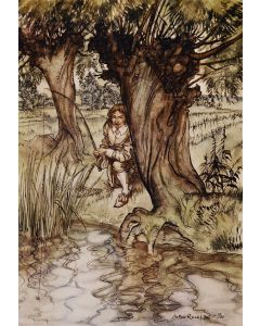 Arthur Rackham, Compleat Angler by Isaak Walton, signed limited edition - 1