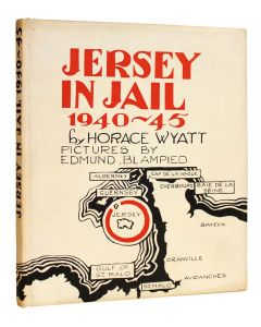 Jersey in Jail 1940-45 limited edition signed by artist Edmund Blampied - 1