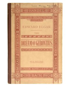 The Dream of Gerontius by Cardinal Newman, set to music by Edward Elgar - 1