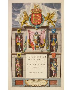 BLAEU, Johannes and Willem.