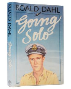 Roald Dahl, Going Solo, first edition signed by Roald Dahl, 1986 - 1