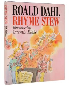 Roald Dahl, Rhyme Stew, first edition, illustrations by Quentin Blake - 1
