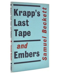 Samuel Beckett, Krapp's Last Tape and Embers, first edition, 1959 - 1