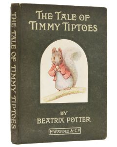 Beatrix Potter, Tale of Timmy Tiptoes, first edition, Warne, 1911 - 1