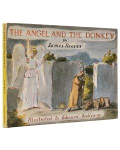 Edward Ardizzone first edition The Angel and the Donkey, signed - 1