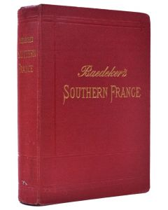 Southern France. 1907. Fifth edition - 1