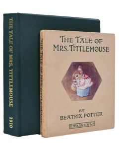Beatrix Potter, The Tale of Mrs. Tittlemouse, first edition, 1910 - 1