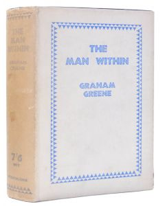 Graham Greene, The Man Within, first edition of author's first novel, 1929 - 1