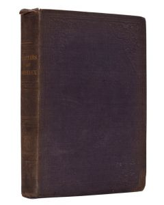 Letters of Percy Bysshe Shelley, first edition literary forgery, 8vo, 1852 - 1