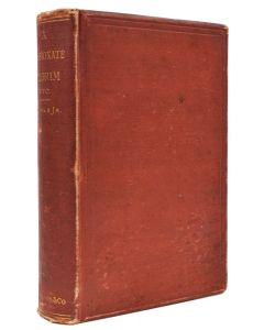 Henry James, A Passionate Pilgrim, first edition of his first book, 1875 - 1