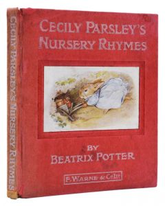 Beatrix Potter, Cecily Parsley's Nursery Rhymes, first edition, 1922 - 1