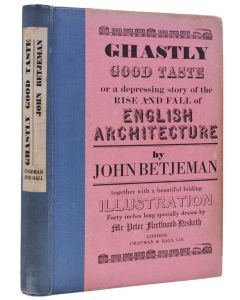 John Betjeman, Ghastly Good Taste, first edition, first issue, 1933 - 1