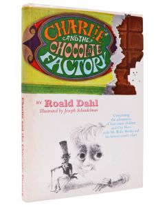 Roald Dahl, Charlie and the Chocolate Factory, first Junior Deluxe edition - 1